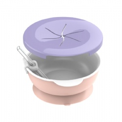 Baby snacks suction bowl